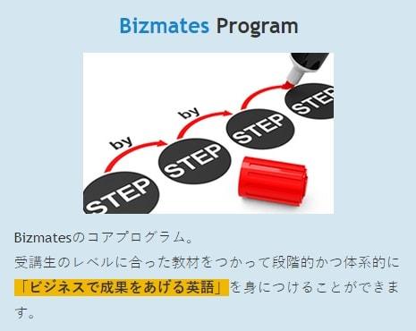 Bizmates Programの説明画像