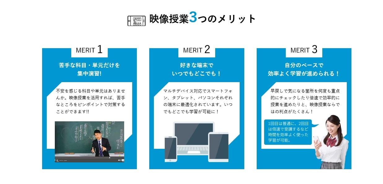 学研プライムゼミの映像授業の3つのメリット