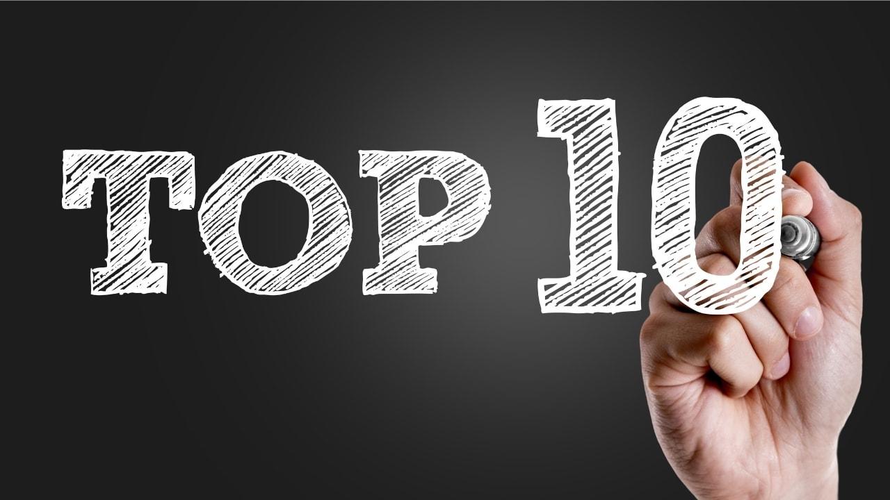 ランキング・トップ10の画像