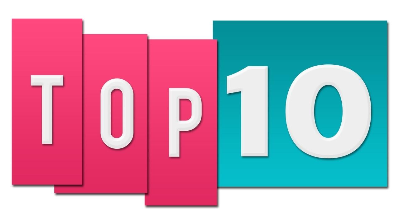 ランキングトップ10